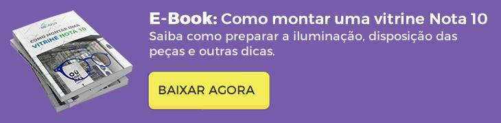 Ebook: Como montar uma vitrine nota para na sua óptica