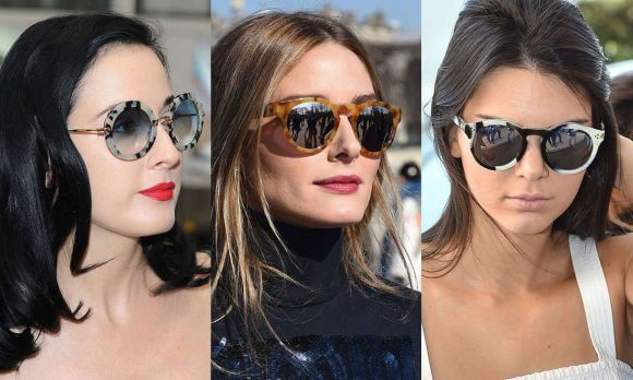 óculos de sol madreperola