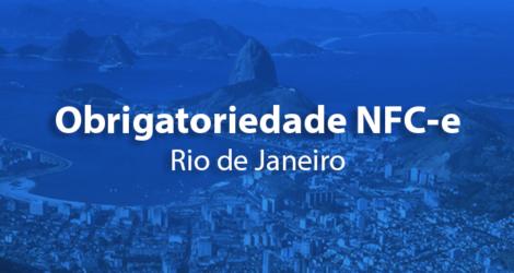 Obrigatoriedade para emissão da NFC-e no RJ