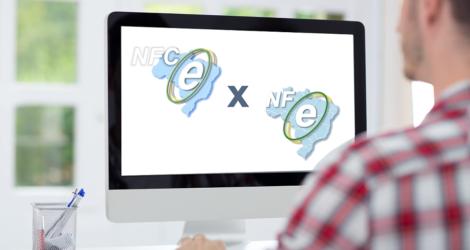 diferenca entre NF-e e a NFC-e