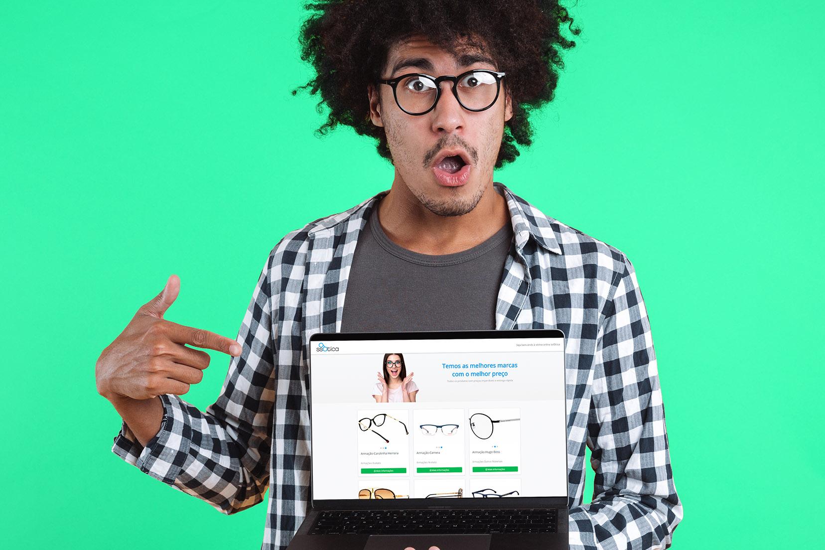 Vitrine Online - Coloque sua ótica no mundo digital